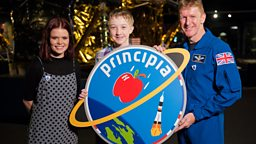 Blue Peter announces winner of their competition to design a badge for British ESA astronaut Tim Peake