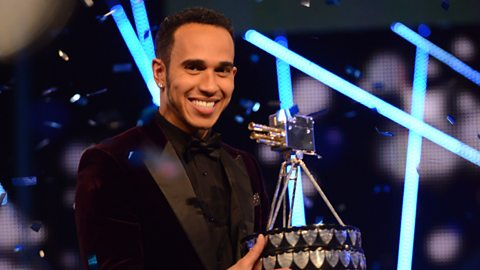 Lewis Hamilton wins BBC Sports Personality Of The Year 2014