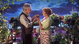 Judi Dench and Dustin Hoffman star in Roald Dahl's Esio Trot for BBC One