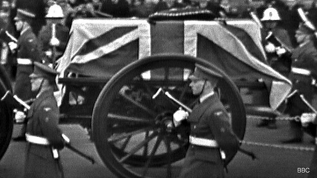 BBC Parliament to broadcast a remastered version of Sir Winston Churchill's State Funeral