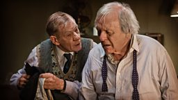 Production commences on The Dresser starring Anthony Hopkins and Ian McKellan