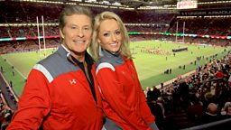 Hayley and The Hoff