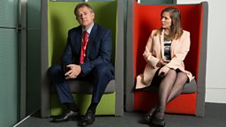 W1A: Interview with BBC's Head of Values, Ian Fletcher and BBC Brand Consultant, Siobhan Sharpe