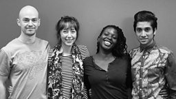 Radio 3 announces the winners of Verb New Voices 2015