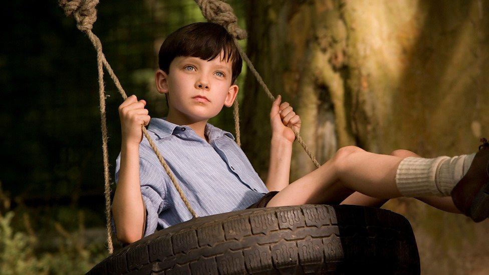 Asa Butterfield in The Boy in the Striped Pyjamas