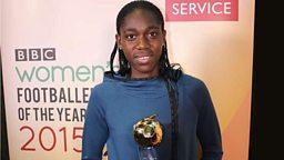 Asisat Oshoala wins BBC Women's Footballer of the Year