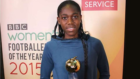 Asisat Oshoala wins BBC Women's Footballer of the Year