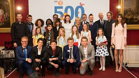 Radio 2 hosts Royal celebration for 500 WORDS winners