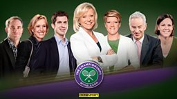 Wimbledon 2015 on the BBC - across television, radio and online