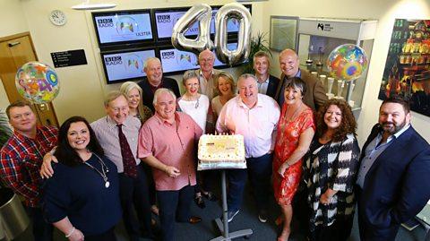 BBC Radio Ulster celebrates 40 years of broadcasting across Northern Ireland