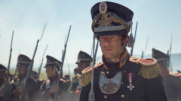 James Norton plays Andrei