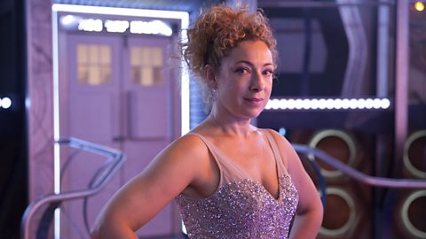 The Doctor and River Song reunite for a spectacular Christmas