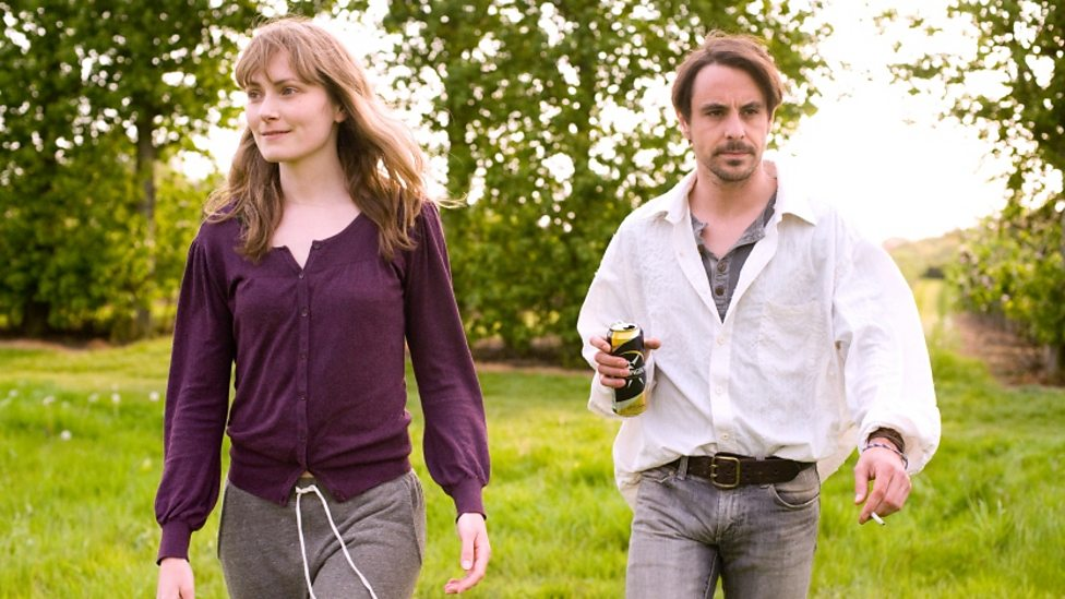 Anna Madeley and Emun Elliot in Strawberry Fields