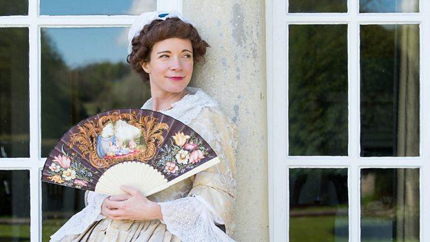Lucy Worsley on Romance, copyright BBC