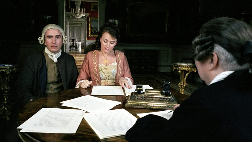 Steve Coogan and Keeley Hawes in A Cock And Bull Story