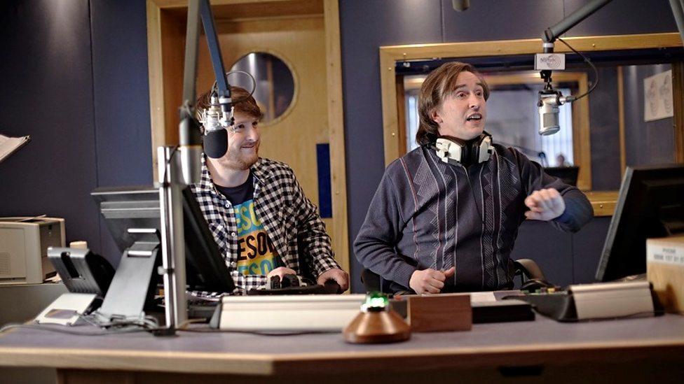Tim Key and Steve Coogan in Alan Partridge: Alpha Papa