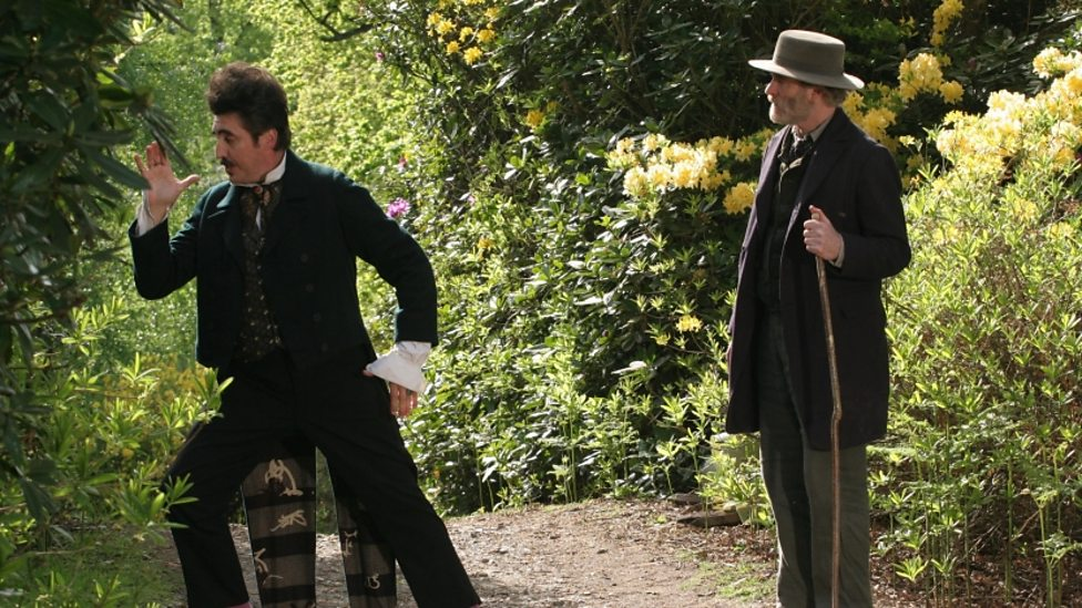 Alfred Molina and Kevin Kline in As You Like It