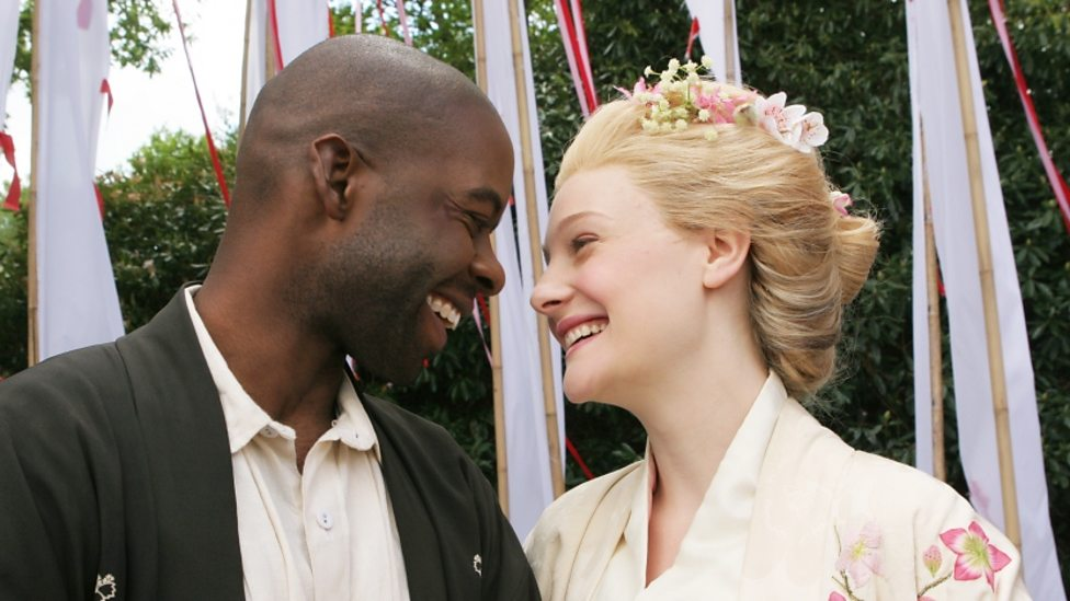 Adrian Lester and Romola Garai in As You Like It