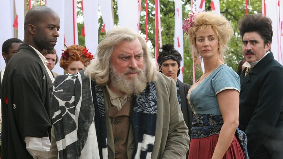 Adrian Lester, Brian Blessed, Janet McTeer and Alfred Molina in As You Like It