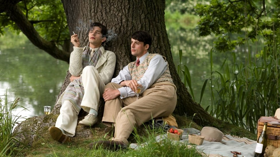 Ben Whishaw and Matthew Goode in Brideshead Revisited