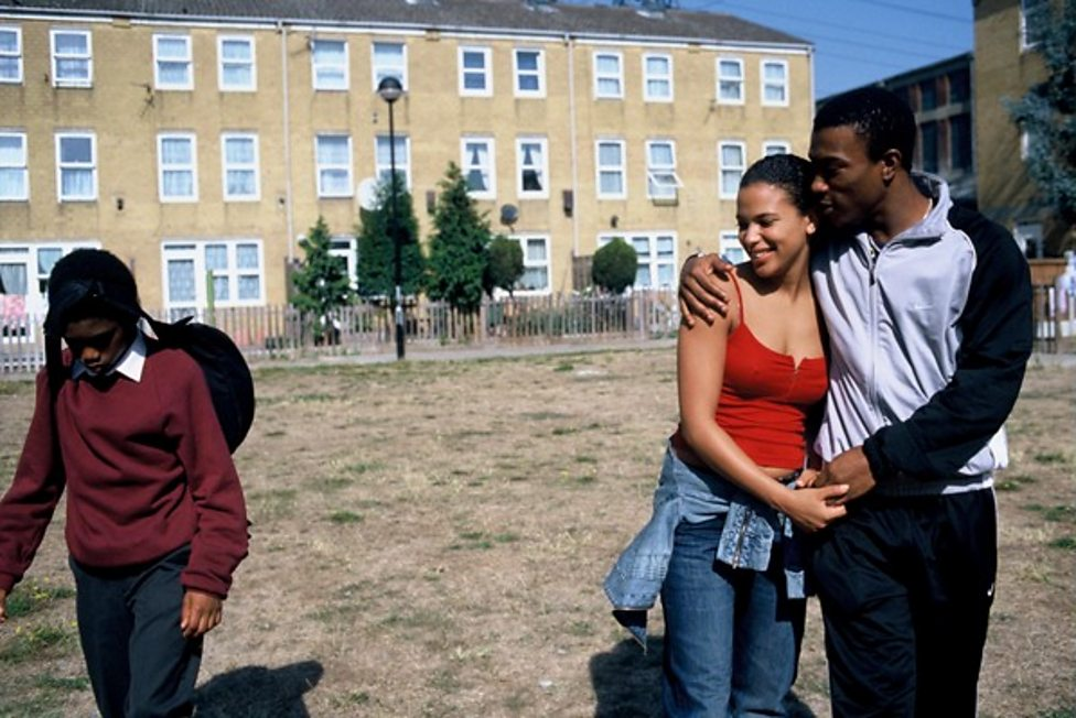 Luke Fraser, Claire Perkins and Ashley Walters in Bullet Boy