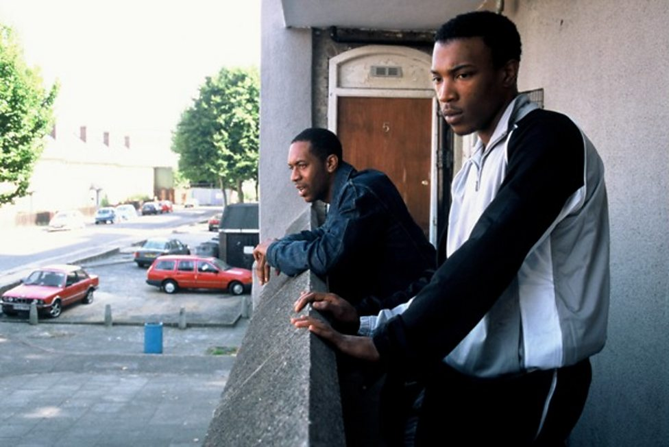 Leon Black and Ashley Walters in Bullet Boy