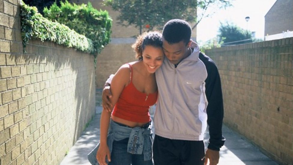 Claire Perkins and Ashley Walters in Bullet Boy