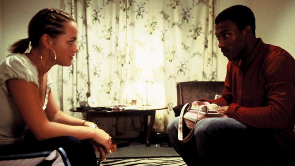 Jaime Winstone and Ashley Walters in Bullet Boy