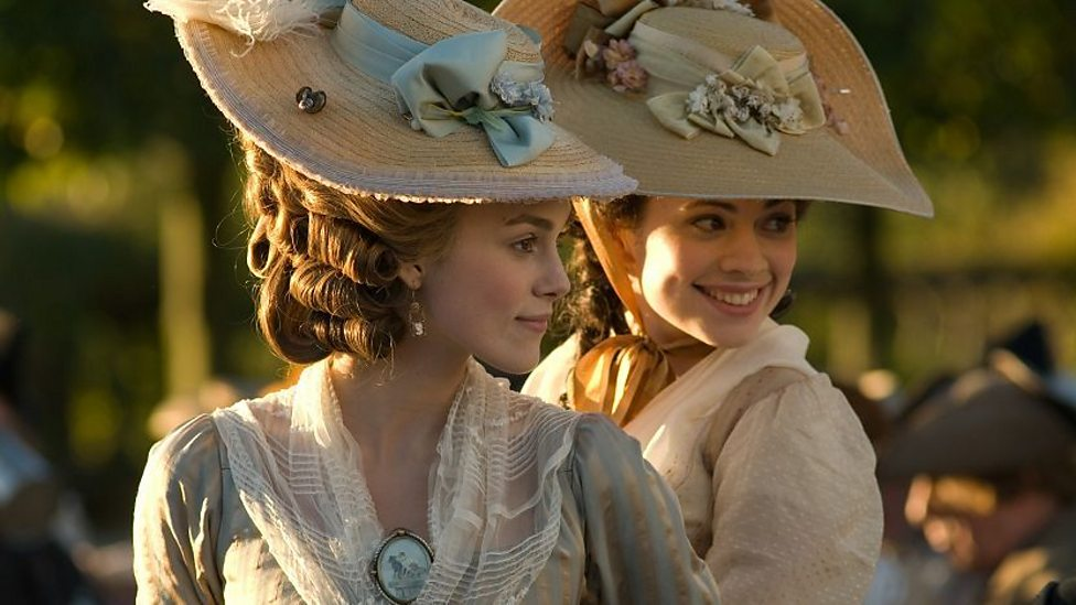 Keira Knightley and Hayley Atwell in The Duchess