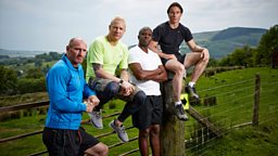 Four sporting giants take on new challenge for BBC Two