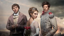 BBC releases iconic image for epic BBC One drama War And Peace