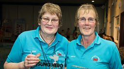 Llanrwst farmers jointly win BBC Wales Get Inspired Sports Unsung Hero 2015