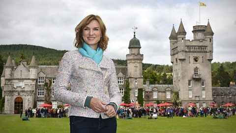 Royal seal of approval for BBC One's Antiques Roadshow at Balmoral Castle
