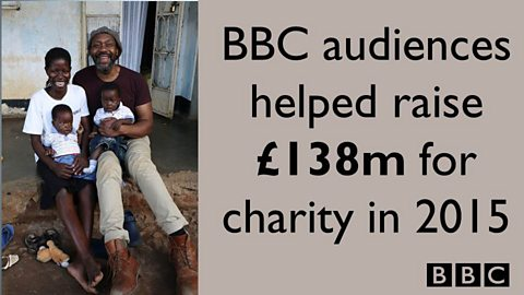 BBC raises £138 million for charity in 2015