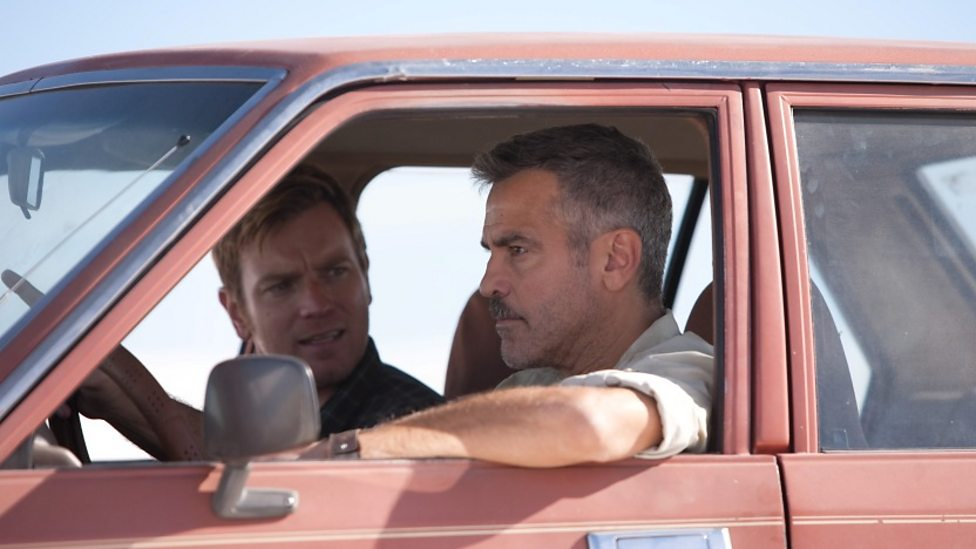 George Clooney and Ewan McGregor in The Men Who Stare At Goats