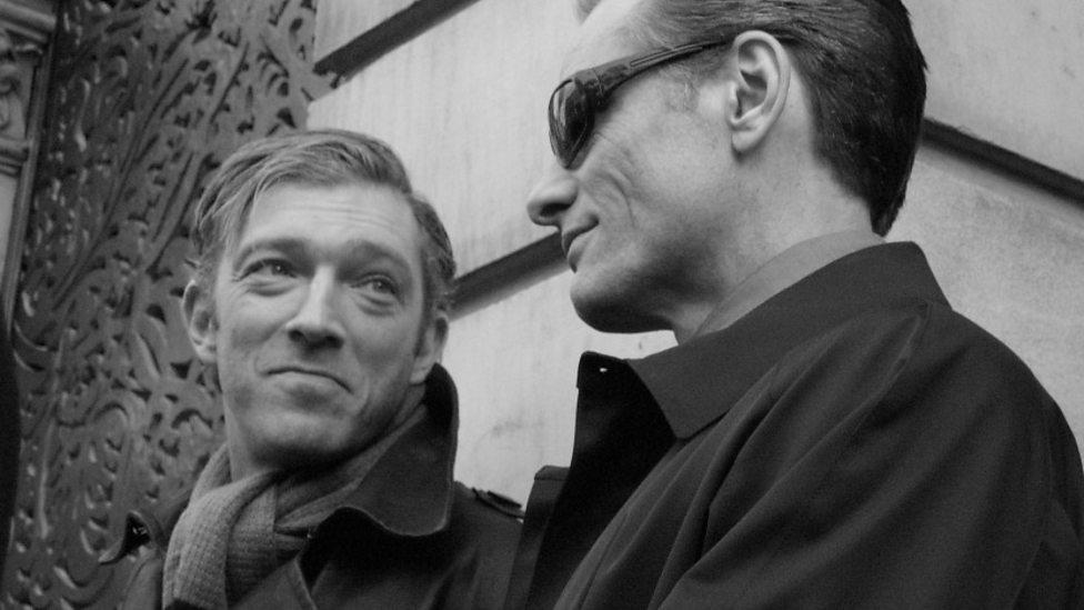 Vincent Cassel and Viggo Mortensen in Eastern Promises