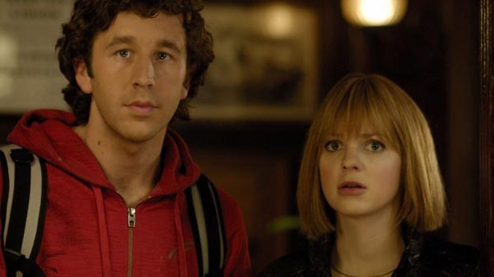 Chris O'Dowd and Anna Faris in Frequently Asked Questions About Time Travel