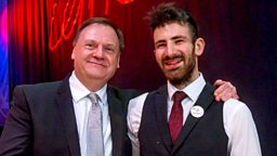Mohsen Amini wins BBC Radio Scotland Young Traditional Musician Of The Year