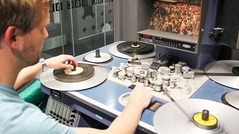 Apply for work experience in BBC Archives