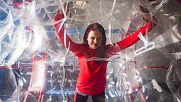 Blue Peter's Lindsey Russell 'The Wave Runner' to Zorb Irish Channel for Sport Relief 2016