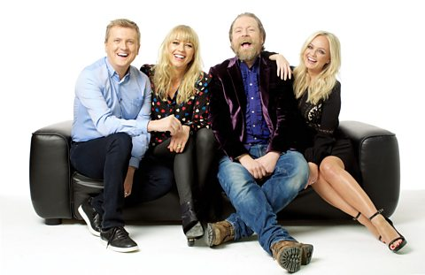 Emma Bunton, Sara Cox, Rufus Hound, Aled Jones to present new BBC Two live entertainment show Too Much TV