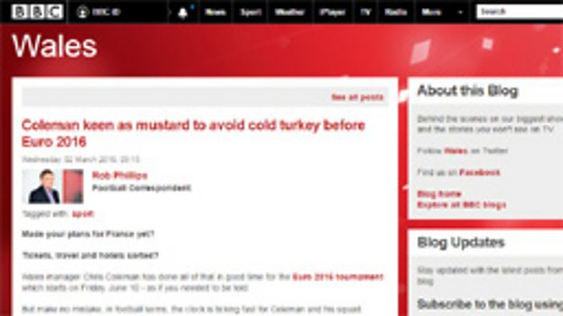 BBC Wales blogs