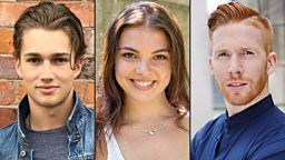 Three new professional dancers join the Strictly Come Dancing line-up for 2016