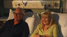 Casualty: Back To Ours delves into the past 30 years, with Derek Thompson and Cathy Shipton