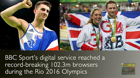 Record breaking Rio for BBC Sport's digital service