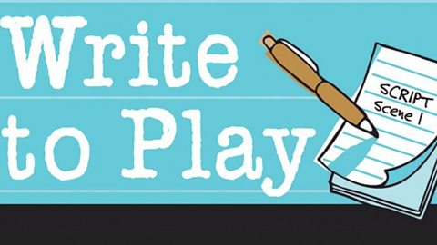 Write to Play: A Graeae Theatre Company Initiative