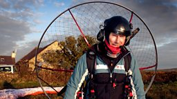 Anglesey Daredevil's amazing journey to work features In new TV series