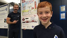 'Let the sights see you' - Blue Peter winner's poster encourages visitors to travel on London Underground