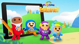 Fans to design CBeebies Playtime Island app update