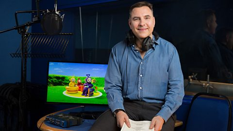 Time for Teletubbies for David Walliams and Rochelle Humes